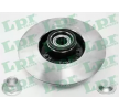 LPR Bremsscheiben R1004PCA