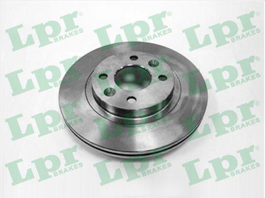 LPR  R1301V Bremsscheibe Bremsscheibendicke: 20,6mm, Felge: 4-loch, Ø: 259mm