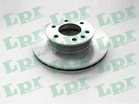 LPR  M2042V Bremsscheibe Bremsscheibendicke: 28mm, Felge: 6-loch, Ø: 300mm