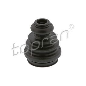 Faltenbalg, Antriebswelle Innendurchmesser 2: 24mm, Innendurchmesser 2: 57mm mit OEM-Nummer 7M0407283