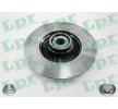 LPR Bremsscheibe C1005PCA für PEUGEOT 307 SW (3H) 2.0 16V ab Baujahr 03.2005, 140 PS