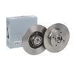 LPR Bremsscheibe C1013PCA für PEUGEOT 307 SW (3H) 2.0 16V ab Baujahr 03.2005, 140 PS