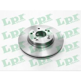 Brake Disc H1005V CIVIC 8 Hatchback (FN, FK) 1.6 MY 2008