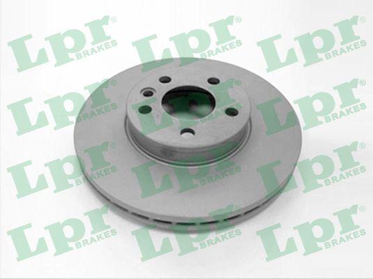 LPR  F1004V Bremsscheibe Bremsscheibendicke: 26mm, Felge: 5-loch, Ø: 300mm