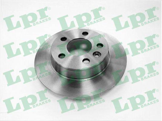 LPR  F1581P Bremsscheibe Bremsscheibendicke: 10mm, Felge: 5-loch, Ø: 268mm
