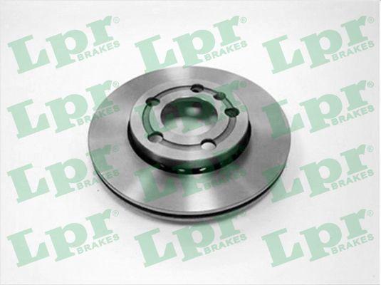 LPR  V2007V Bremsscheibe Bremsscheibendicke: 18mm, Felge: 5-loch, Ø: 239mm