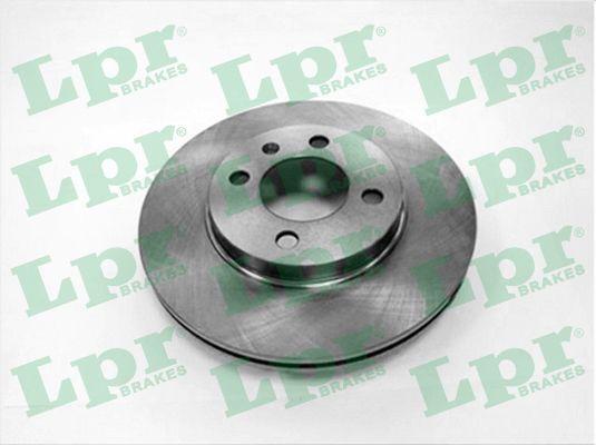 LPR  V2161V Bremsscheibe Bremsscheibendicke: 20mm, Felge: 4-loch, Ø: 256mm