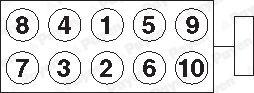 Zylinderkopfschraubensatz PAYEN HBS299 4044197257454