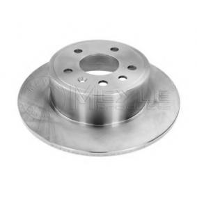 Bremsscheibe Bremsscheibendicke: 10mm, Lochanzahl: 5, Ø: 286mm mit OEM-Nummer 4837027