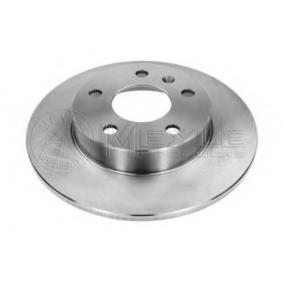 Bremsscheibe Bremsscheibendicke: 9,8mm, Lochanzahl: 5, Ø: 264mm mit OEM-Nummer 0569 109