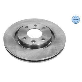Bremsscheibe Bremsscheibendicke: 22mm, Lochanzahl: 4, Ø: 266mm mit OEM-Nummer 4249G1