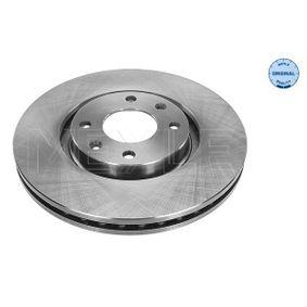 Bremsscheibe Bremsscheibendicke: 26mm, Lochanzahl: 4, Ø: 283mm mit OEM-Nummer 4249.84