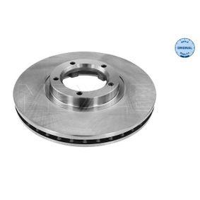 Bremsscheibe Bremsscheibendicke: 24,2mm, Lochanzahl: 5, Ø: 254mm mit OEM-Nummer 5029815