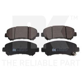 Brake Pad Set, disc brake 222269 Qashqai / Qashqai +2 I (J10, NJ10) 1.5 dCi MY 2011