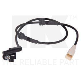 Sensor, Raddrehzahl mit OEM-Nummer 96 584 20780