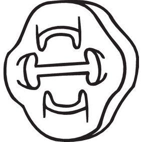 BOSAL  255-853 Gummistreifen, Abgasanlage