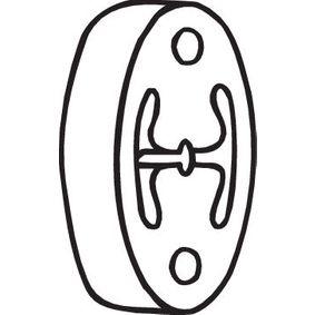 Nissan Note e11 1.5dCi Endschalldämpfer BOSAL 255-134 (1.5 dCi Diesel 2007 K9K 276)