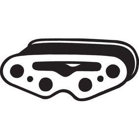 Rubber Strip, exhaust system 255-501 PANDA (169) 1.2 MY 2012
