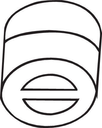 BOSAL Anschlagpuffer, Schalldämpfer  255-681