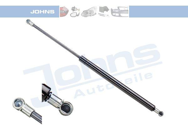 JOHNS  60 03 95-91 Heckklappendämpfer / Gasfeder Länge: 455mm, Hub: 162mm, Länge: 455mm