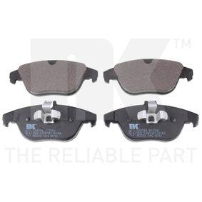 2014 Mercedes W204 C 200 CDI 2.2 (204.001) Brake Pad Set, disc brake 223368