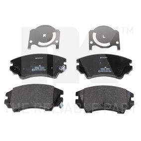 Brake Pad Set, disc brake Width 1: 142,05mm, Height 1: 66,7mm, Thickness 1: 19mm with OEM Number 16 05 265