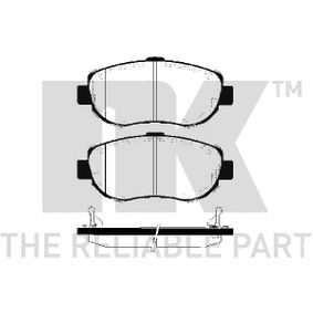 Bremsbelagsatz, Scheibenbremse Breite 1: 144,00mm, Höhe 1: 63,80mm, Dicke/Stärke 1: 17,80mm mit OEM-Nummer 04465-50110