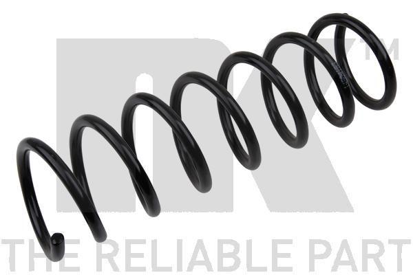 NK  542552 Coil Spring Length: 362mm, Length: 362mm, Length: 362mm, Thickness: 11,58mm, Ø: 109mm