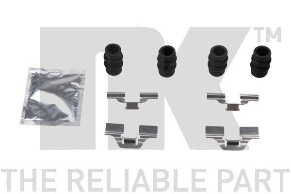 NK  79451827 Kit de accesorios, pastillas de frenos