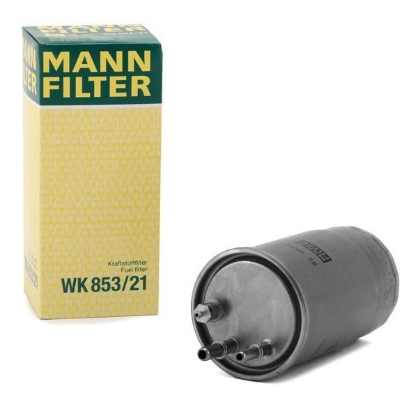 Filtro de Combustible MANN-FILTER WK853/21 conocimiento experto