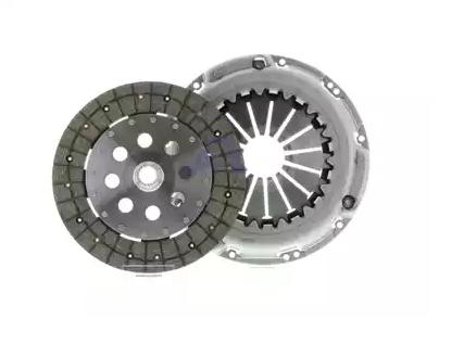 LuK Kupplungssatz für Motoren mit Zweimassenschwungrad  mit Kupplungsdruckplatte  mit Kupplungsscheibe  623 3081 09