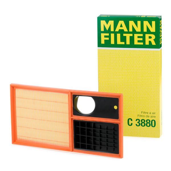 Luftfilter MANN-FILTER C3880 Erfahrung