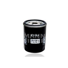 Ölfilter Ø: 76mm, Außendurchmesser 2: 71mm, Innendurchmesser 2: 62mm, Innendurchmesser 2: 62mm, Höhe: 100mm mit OEM-Nummer 4434792