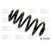 BILSTEIN Fahrwerksfeder 36-147908 für AUDI A4 Avant (8E5, B6) 3.0 quattro ab Baujahr 09.2001, 220 PS