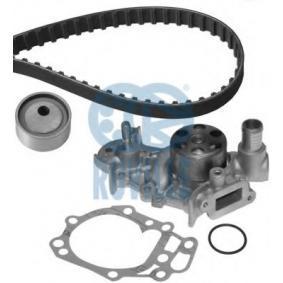 Wasserpumpe + Zahnriemensatz Breite: 17,00mm mit OEM-Nummer 7700 106 241