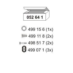 ERNST  052641 Montagesatz, Schalldämpfer