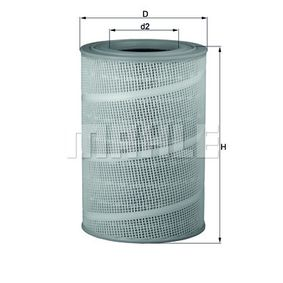 Autoteile Top Angebot: Luftfilter Filtereinsatz LX 714
