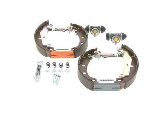 Trommelbremse Komplett 0 204 114 154 BOSCH KS154 in Original Qualität