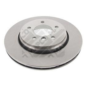 Bremsscheibe Bremsscheibendicke: 22mm, Lochanzahl: 5, Ø: 320mm mit OEM-Nummer 3421 6855 157