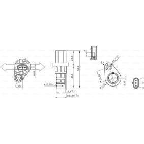 Generatore di impulsi, Albero a gomiti 0 261 210 318 Ypsilon (312_) 1.2 ac 2012