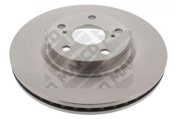 MAPCO  25227 Bremsscheibe Bremsscheibendicke: 26mm, Lochanzahl: 5, Ø: 295mm