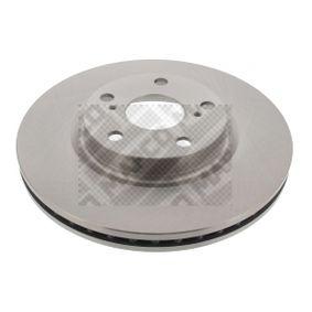 Bremsscheibe Bremsscheibendicke: 26mm, Lochanzahl: 5, Ø: 295mm mit OEM-Nummer 43512 05 080