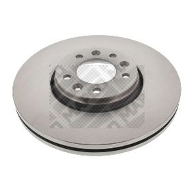 Brake Disc Brake Disc Thickness: 28mm, Num. of holes: 5, Ø: 304mm with OEM Number SU001A1064