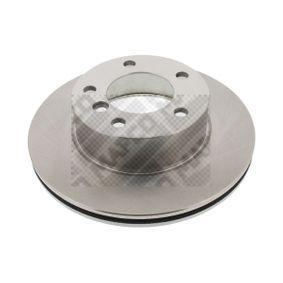 MAPCO  25760 Bremsscheibe Bremsscheibendicke: 22mm, Lochanzahl: 5, Ø: 284mm