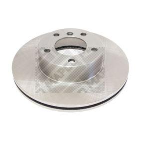 MAPCO  25784 Bremsscheibe Bremsscheibendicke: 24mm, Lochanzahl: 5, Ø: 300mm