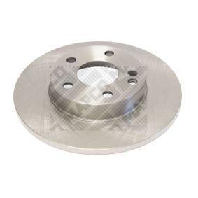 Bremsscheibe Bremsscheibendicke: 12mm, Lochanzahl: 5, Ø: 276mm mit OEM-Nummer 169.421.00.12