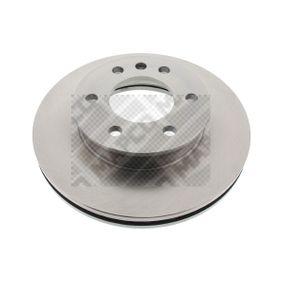 Bremsscheibe Bremsscheibendicke: 28mm, Lochanzahl: 6, Ø: 300mm mit OEM-Nummer 2E0615301
