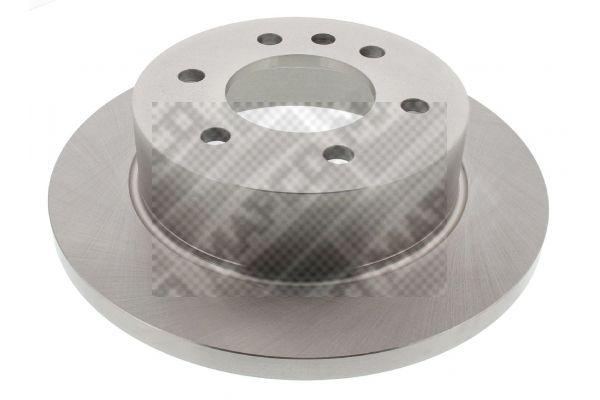 MAPCO  25807 Bremsscheibe Bremsscheibendicke: 16,5mm, Lochanzahl: 6, Ø: 298mm