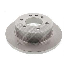 Bremsscheibe Bremsscheibendicke: 16,5mm, Lochanzahl: 6, Ø: 298mm mit OEM-Nummer 2E0 615 601 A