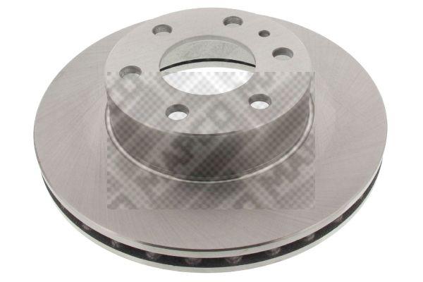 MAPCO  25051 Bremsscheibe Bremsscheibendicke: 28mm, Lochanzahl: 6, Ø: 300mm